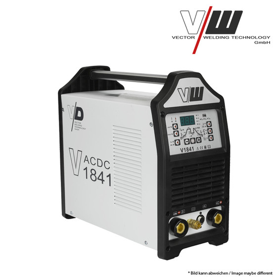 VECTOR Digital Welding machine AC/DC TIG V1841 Plus Inverter ALU TIG ARC MMA STICK Electrode