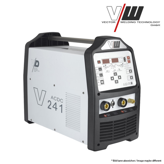 VECTOR Digital Welding machine AC/DC TIG V241 Plus Inverter ALU TIG ARC MMA STICK Electrode