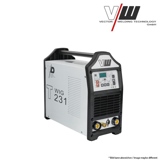 VECTOR Digital Welding machine DC TIG T231 Plus Inverter TIG ARC MMA STICK Electrode