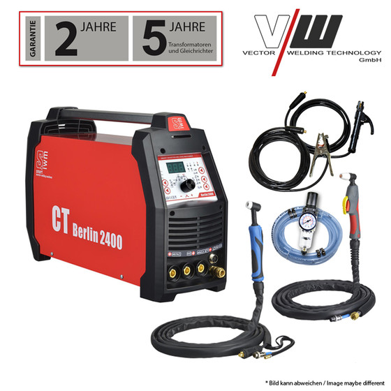 SWIM Berlin2400 Kombi Welder DC TIG 200 Plus CUT TIG MMA E-Hand Inverter 4 in1