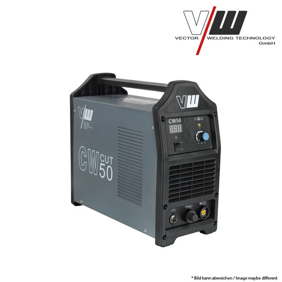 VECTOR Profesional Plasma Cutter CW50 Inveter cutting 12mm HF Arc 230V